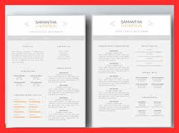2 Page Resume Sample Good Resume Format