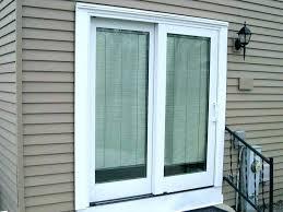 sliding patio doors with blinds between the glass s built in door best inside