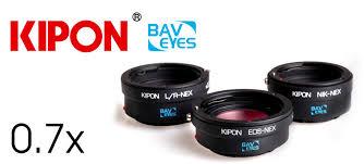 kipon baveyes 0 7x adapter