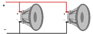 parallel speaker wiring diagram parallel image wiring in parallel speakers wiring auto wiring diagram schematic on parallel speaker wiring diagram