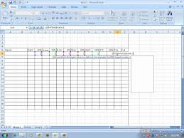 how to make a sheet in excel how to make grading sheet using ms excel 2007 wmv youtube