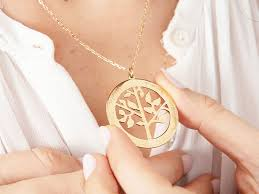 product details represent the roots of your family with our tree of life necklace