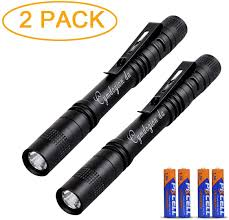 500 Lumen Pen Light Pen Flashlight 3 Modes Mini Led Flashlight Bright Battery Powered Pen Light With Pocket Clip For Camping And Biking Indoor And Outdoor Durable