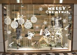 Window Decoration Christmas Ornaments Solid Color Snowflake Without Plastic Stickers