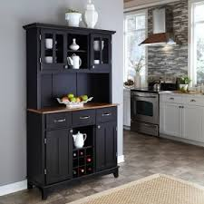 china cabinet hutch. Home Styles Large Wood Bakers Rack With Two Door Hutch China Cabinet O