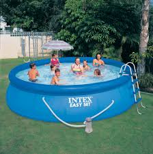 above ground inflatable pool. Wonderful Above In Above Ground Inflatable Pool B