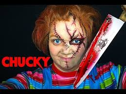 chucky makeup tutorial