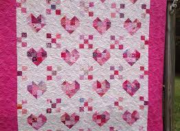 Scrappy Heart Quilt | & Terry Niedling Heart Quilt Adamdwight.com