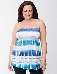 plus size tube tops plus size criss cross stripe ponte knit leggings fashion passion