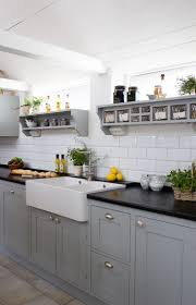 Grey Kitchen Ideas Prepossessing Decor Grey Kitchen Cupboards Grey Kitchens