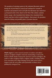 com women deacons essays answers  com women deacons essays answers 9780814683125 phyllis zagano books
