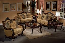 Wooden Arm Chairs Living Room Living Room Brown Varnished Wood Modern Arm Chair With Beige
