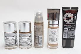 l oreal and neutrogena makeup 5 pieces