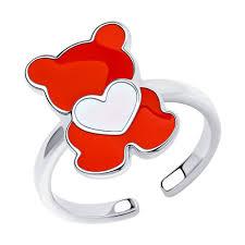 <b>Кольцо SOKOLOV из</b> серебра купить недорого в интернет ...