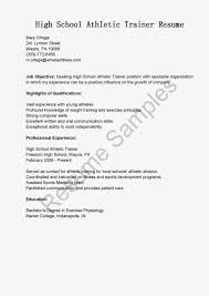 Athletic Resume Template Free Sports Medicine Resume Resume For Study 28