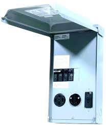 outdoor receptacle box cover with lock wire install outside add out 0 bell 5 weatherproof