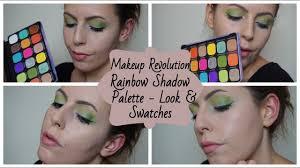 <b>Makeup Revolution Rainbow</b> Shadow Palette - Testing & Swatches ...