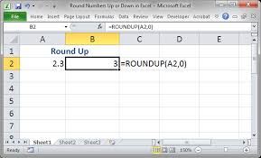 Excel Round Formulas Round Numbers Up Or Down In Excel Teachexcel Com