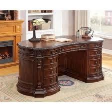 home office set. roosevelt home office set w kidney desk