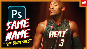 Dwayne Wade Johnson — Same Name Photoshop Edit (Unsolicited Photoshop) | by  Second Crop Creative | Medium