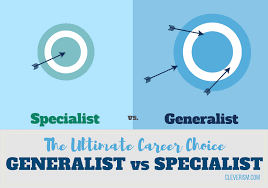 Career Success Definition The Ultimate Career Choice Generalist Vs Specialist