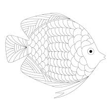 Betta Fish Coloring Pages Fish Coloring Page Betta Fish Coloring