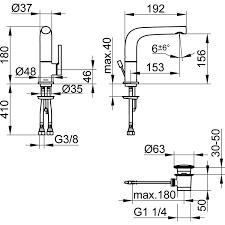 Keuco Einhebelmischer Waschbeckenarmatur 150 Edition 400 Schwenkbar Verchromt