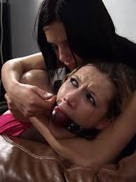 Bondage lesbian and gagged