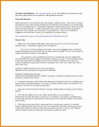 Sample Resume For Older Job Seekers Creative 20 Job Description For