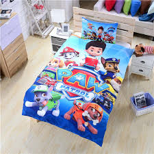 hot paw patrol bedding set new arrival duvet cover twin full queen size soft fun