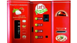 Vending Machine Pizza Custom Pizzamaking Vending Machines On Their Way To The US