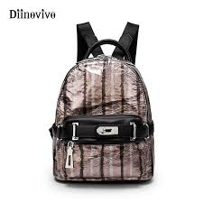 luxury bags made of genuine leather motorcycle backpacks for women striped designer small women s travel bag whdv0273 womens backpacks pink backpacks from