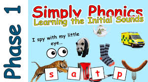 It is perfect for early readers/writers and is simple enough for students to work on independently in jolly phonics teaching phonics kindergarten literacy. Phase 1 Phonics I Spy Game Initial Sounds Game Youtube