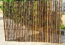 Rigid Panel Bamboo Screening