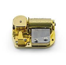 Music box movement mechanism movement replacement single tune home craft. 30 Note Mechanical Movement Musicboxattic Com
