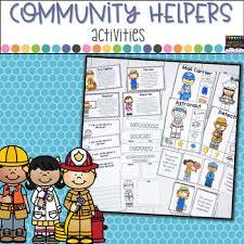 Community Helpers Chart Community Helpers Activities