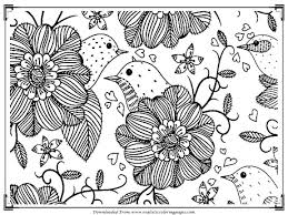 Great Coloring Pages Birds Printable Pictures Inspiration Entry