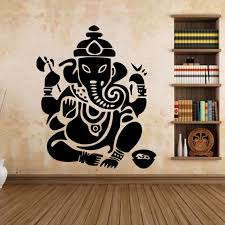 Small Picture Aliexpresscom Buy Buddhist Art Wall Stickers India AW9487