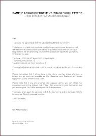 Non Profit Donation Letter Template Non Profit Thank You Letter Template