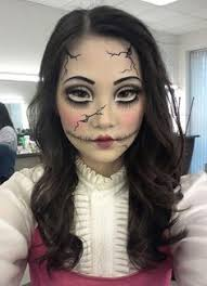 broken doll makeup coiffure gothic art doll makeup and awesome