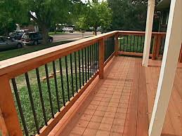 image of deck railing designs idea