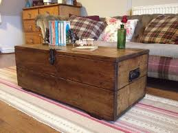 trunk style coffee table new old rustic pine box vintage wooden chest coffee table toy