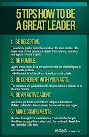 Good Leader Quotes 6 Awesome Tips On Being A Great Leader Professor John R Fugazzie