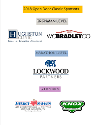 thank you to our open door clic sponsors we appreciate your support