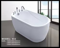 wonderful small bathtub sizes small size colorful free standing acrylic ba bathtub with 5