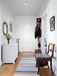 image of vintage hallway rug