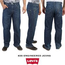 Details About Vintage Levis 835 Engineered Jeans Rare Twisted Leg Relaxed Fit