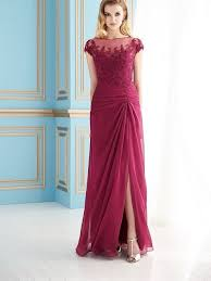Jade By Jasmine Mothers Gown Style J155059 Scarlet Color