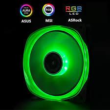JONSBO RGB Fan 120mm PC Case Fan Cooler Double Sides Glow ...