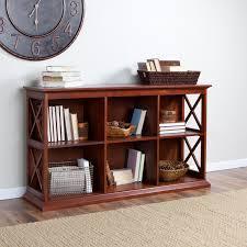 Bookcase Table Belham Living Hampton Tv Stand Bookcase Cherry Hayneedle